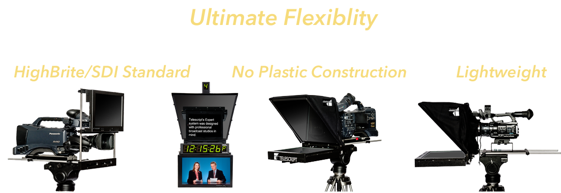 teleprompters prompters