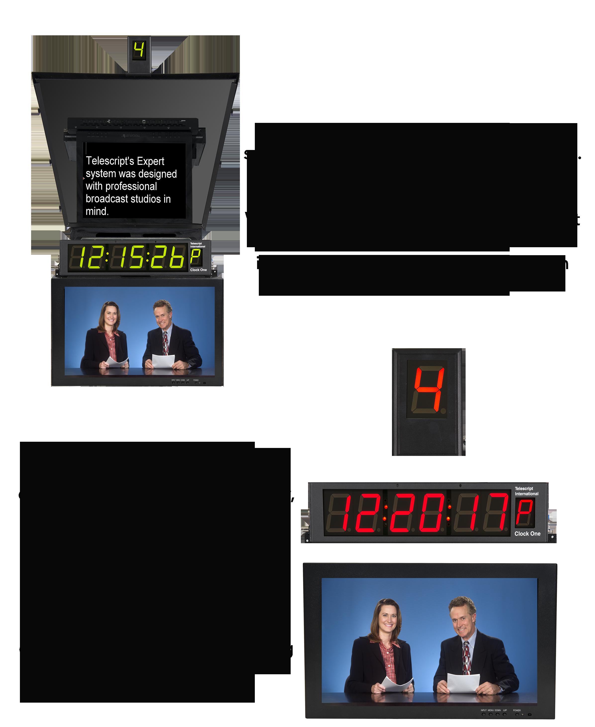 Telescript Studio Teleprompter System - Expert   Telescript