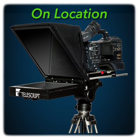 Telescript On Location Teleprompters
